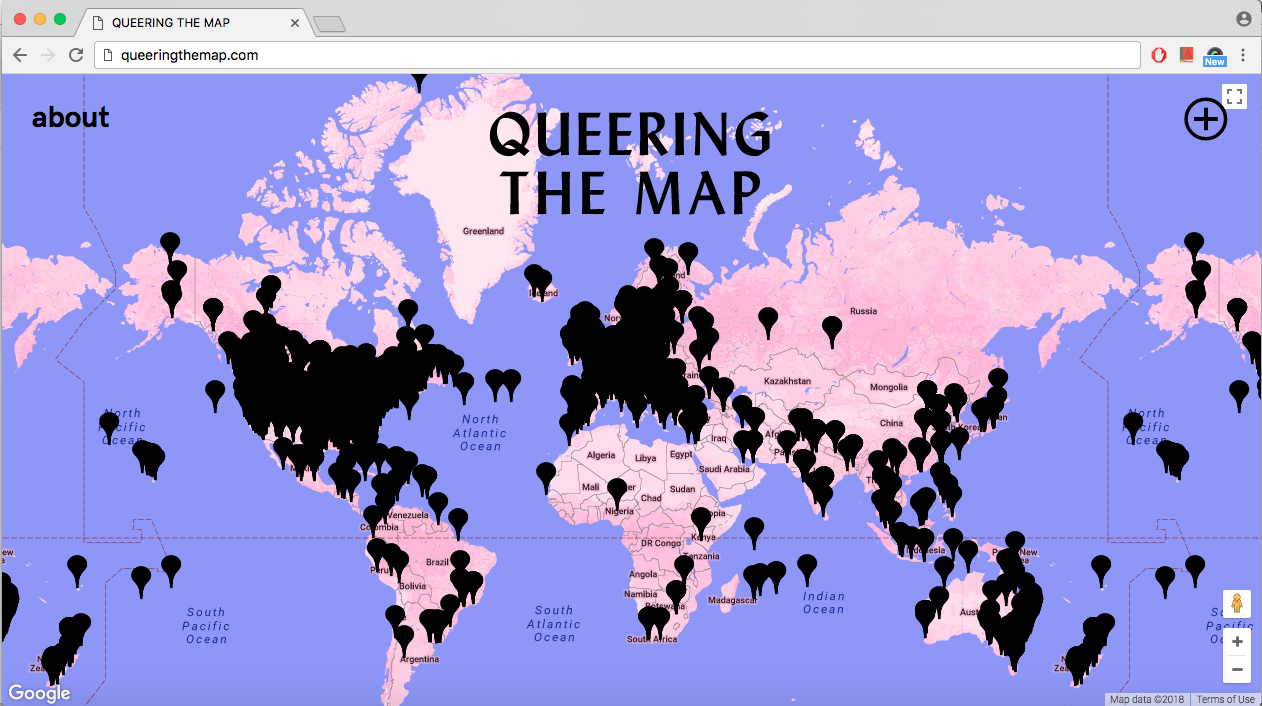 Interview With Lucas Larochelle Founder Of Queering The Map